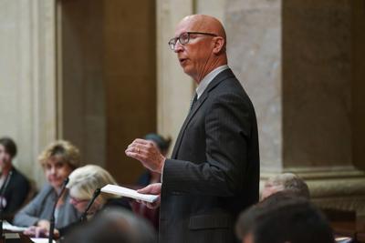 FILE - Wisconsin state Sen. Duey Stroebel