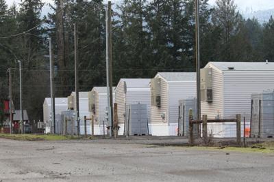 FILE —Oregon wildfire temporary housing
