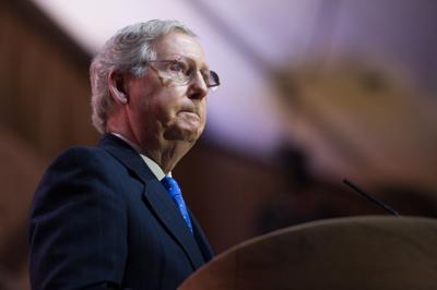 FILE - Senator Mitch McConnell