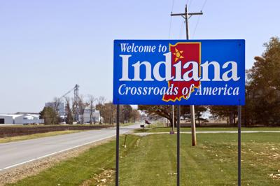 FILE - Welcome to Indiana