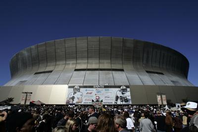 FILE - Louisiana Superdome