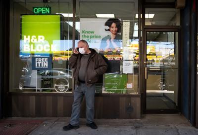 FILE - NY tax office 4-6-2020