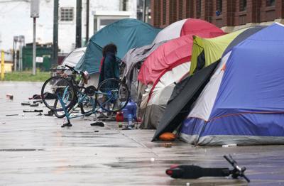 FILE - Denver Homeless