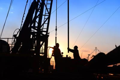 FILE - Oil and gas extraction