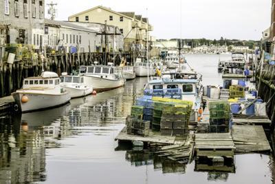 FILE - ME lobster traps 9-21-2017