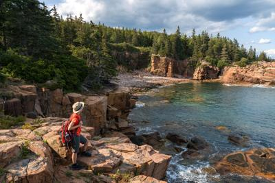 FILE - Acadia National Park in Maine