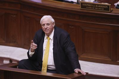 File-West Virginia Gov. Jim Justice