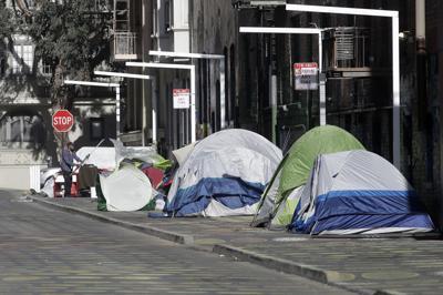Virus Outbreak California Homeless