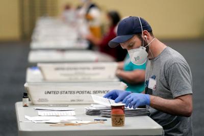 APTOPIX Election 2020 Pennsylvania Vote Counting