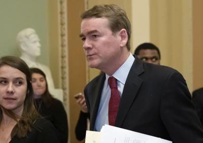 FILE - Election 2020 U.S. Sen. Michael Bennet Colorado