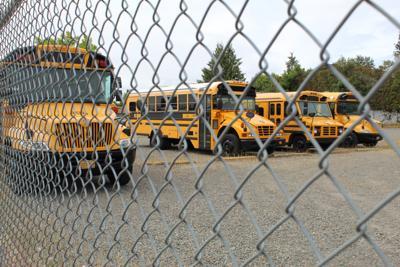 FILE - Oregon School Buses