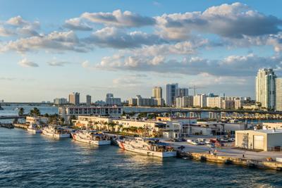 FILE - U.S. Coast Guard Florida base