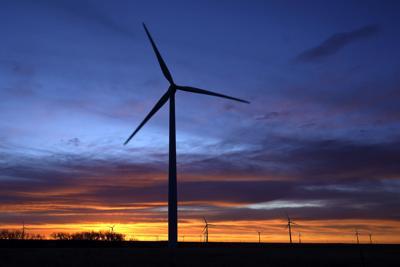 FILE - Clean Energy Wind Turbines