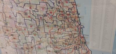 FILE - Redistricting reform in Illinois, independent maps, gerrymandering