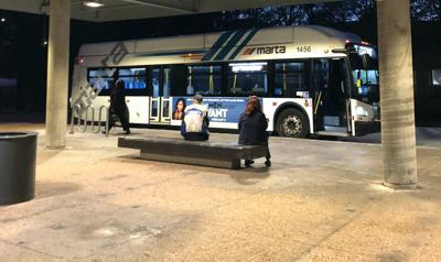 FILE - MARTA bus