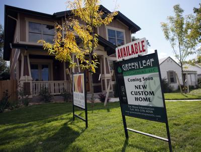 FILE - Colorado home for sale