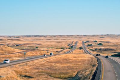 FILE - Wyoming Interstate 25