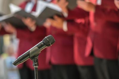 FILE - Church choir