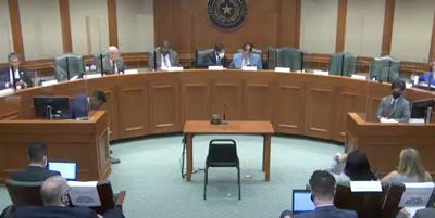 FILE - Texas Senate Committee on Education