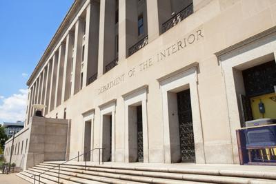 FILE - U.S. Interior Department