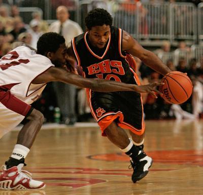 FILE - IHSA Illinois high school basketball