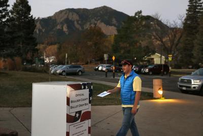 FILE - Colorado Voting