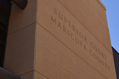 FILE - Maricopa County Superior Court building in Phoenix