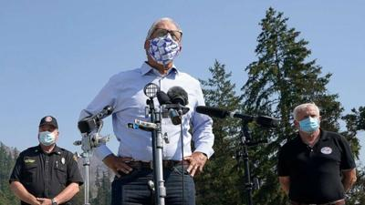 FILE —Inslee wildfires