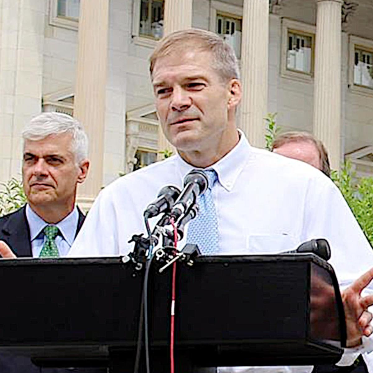 U S  Rep  Jim Jordan: DOJ Inspector General should testify