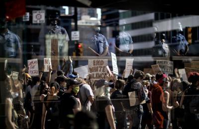 APTOPIX America Protests Philadelphia