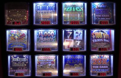 FILE - Lottery Vending Kansas