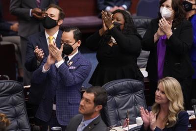 FILE - Carlos Guillermo Smith, 2021, Florida Legislature