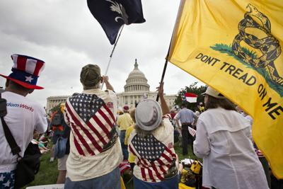 FILE - Tea Party Four Years Later