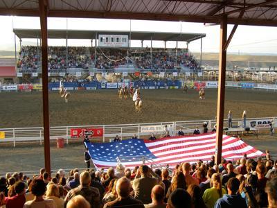 FILE - Cody Wyoming Stampede