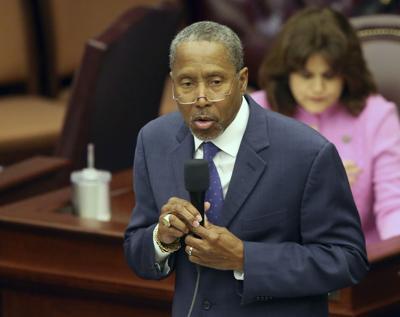 FILE - Florida state Sen. Darryl Rouson