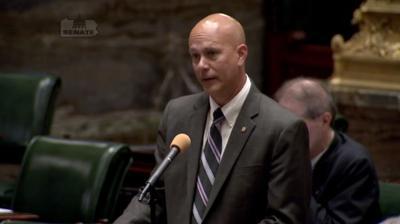 FILE - Pennsylvania Sen. Patrick Stefano