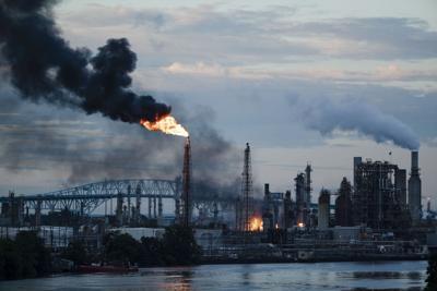 FILE - Philadelphia Refinery Fire