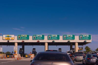 FILE - Florida Turnpike Sunpass