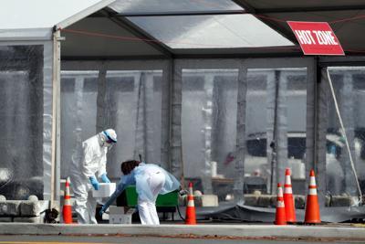 APTOPIX Virus Outbreak New York Testing