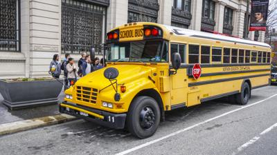 FILE - PA Pennsylvania School bus