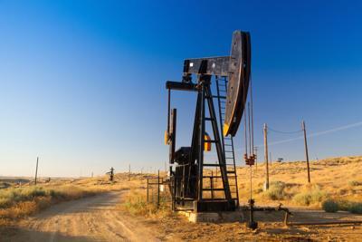 FILE - Oil pump in Nevada
