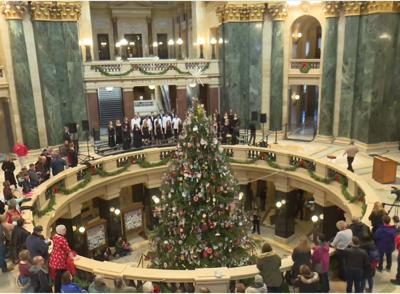 North Iowa Christmas Trees 2020 Republican says Evers' decision against Christmas tree in 2020