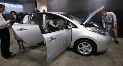 FILE —Seattle electric car