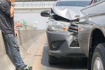 FILE - Car crash