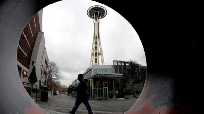 FILE —Space Needle street view