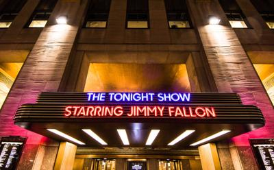 FILE - The Tonight Show with Jimmy Fallon