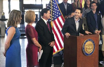 FILE - Arizona state Sen. Paul Boyer