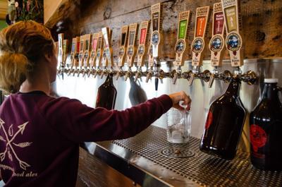 FILE - Minnesota craft brewery