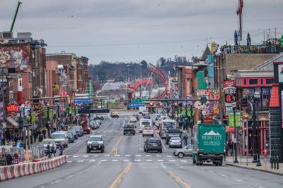 FILE - Nashville Tennessee traffic