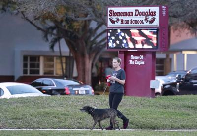 FILE - Marjory Stoneman Douglas High School